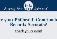 how to update philhealth records