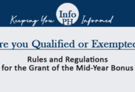 Rules and Regulations for the Grant of the Mid-Year Bonus